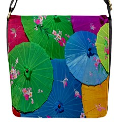 Chinese Umbrellas Screens Colorful Flap Messenger Bag (S)