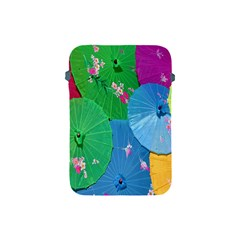 Chinese Umbrellas Screens Colorful Apple Ipad Mini Protective Soft Cases
