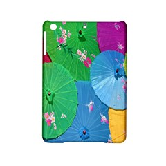 Chinese Umbrellas Screens Colorful Ipad Mini 2 Hardshell Cases