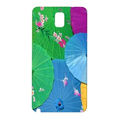 Chinese Umbrellas Screens Colorful Samsung Galaxy Note 3 N9005 Hardshell Back Case