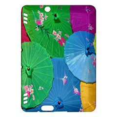Chinese Umbrellas Screens Colorful Kindle Fire Hdx Hardshell Case
