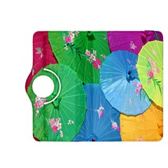 Chinese Umbrellas Screens Colorful Kindle Fire HDX 8.9  Flip 360 Case