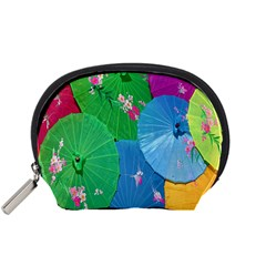 Chinese Umbrellas Screens Colorful Accessory Pouches (Small)