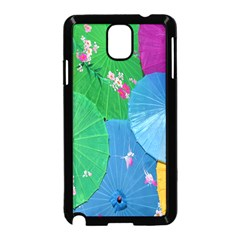 Chinese Umbrellas Screens Colorful Samsung Galaxy Note 3 Neo Hardshell Case (Black)
