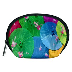 Chinese Umbrellas Screens Colorful Accessory Pouches (Medium)