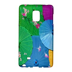 Chinese Umbrellas Screens Colorful Galaxy Note Edge