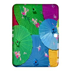Chinese Umbrellas Screens Colorful Samsung Galaxy Tab 4 (10.1 ) Hardshell Case