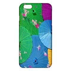Chinese Umbrellas Screens Colorful iPhone 6 Plus/6S Plus TPU Case