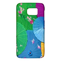 Chinese Umbrellas Screens Colorful Galaxy S6