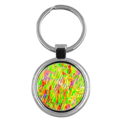 Cheerful Phantasmagoric Pattern Key Chains (Round)