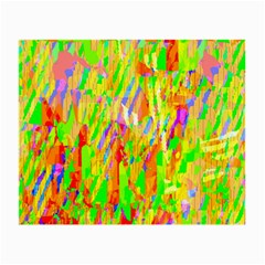 Cheerful Phantasmagoric Pattern Small Glasses Cloth (2 Side)