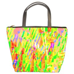 Cheerful Phantasmagoric Pattern Bucket Bags