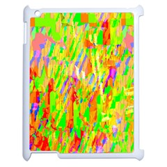 Cheerful Phantasmagoric Pattern Apple iPad 2 Case (White)