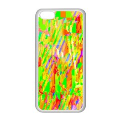 Cheerful Phantasmagoric Pattern Apple Iphone 5c Seamless Case (white)