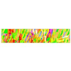 Cheerful Phantasmagoric Pattern Flano Scarf (Small)