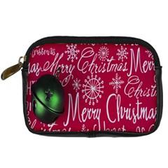 Christmas Decorations Retro Digital Camera Cases