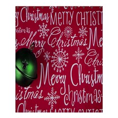 Christmas Decorations Retro Shower Curtain 60  x 72  (Medium)