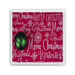Christmas Decorations Retro Memory Card Reader (Square)