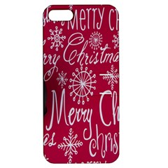Christmas Decorations Retro Apple iPhone 5 Hardshell Case with Stand
