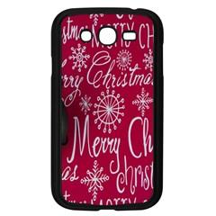 Christmas Decorations Retro Samsung Galaxy Grand DUOS I9082 Case (Black)