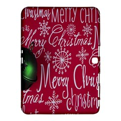 Christmas Decorations Retro Samsung Galaxy Tab 4 (10 1 ) Hardshell Case