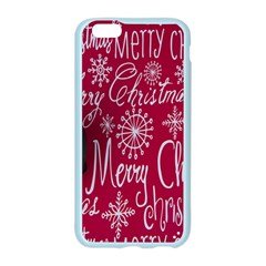 Christmas Decorations Retro Apple Seamless iPhone 6/6S Case (Color)