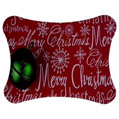 Christmas Decorations Retro Jigsaw Puzzle Photo Stand (Bow)