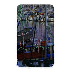 Christmas Boats In Harbor Memory Card Reader