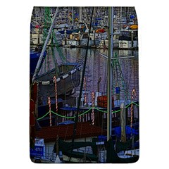 Christmas Boats In Harbor Flap Covers (l)
