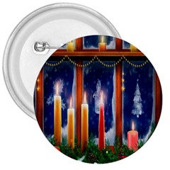Christmas Lighting Candles 3  Buttons