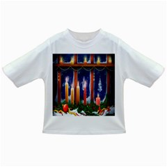 Christmas Lighting Candles Infant/toddler T Shirts
