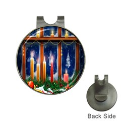 Christmas Lighting Candles Hat Clips with Golf Markers