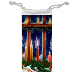Christmas Lighting Candles Jewelry Bag