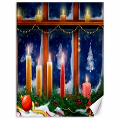 Christmas Lighting Candles Canvas 36  x 48