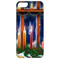 Christmas Lighting Candles Apple iPhone 5 Classic Hardshell Case