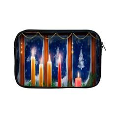 Christmas Lighting Candles Apple iPad Mini Zipper Cases