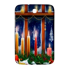 Christmas Lighting Candles Samsung Galaxy Note 8 0 N5100 Hardshell Case