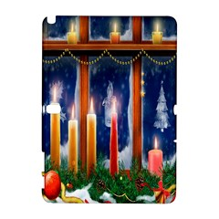 Christmas Lighting Candles Galaxy Note 1