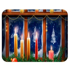 Christmas Lighting Candles Double Sided Flano Blanket (medium)