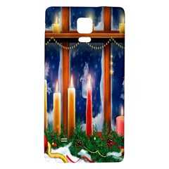 Christmas Lighting Candles Galaxy Note 4 Back Case