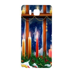Christmas Lighting Candles Samsung Galaxy Alpha Hardshell Back Case