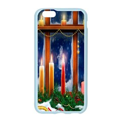 Christmas Lighting Candles Apple Seamless iPhone 6/6S Case (Color)