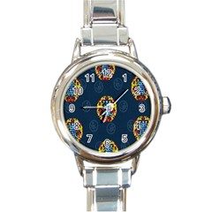 China Wind Dragon Round Italian Charm Watch