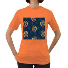 China Wind Dragon Women s Dark T-Shirt