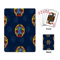 China Wind Dragon Playing Card