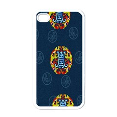 China Wind Dragon Apple iPhone 4 Case (White)