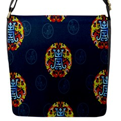 China Wind Dragon Flap Messenger Bag (S)