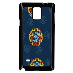 China Wind Dragon Samsung Galaxy Note 4 Case (Black)