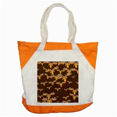 Christmas Reindeer Pattern Accent Tote Bag