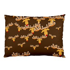 Christmas Reindeer Pattern Pillow Case